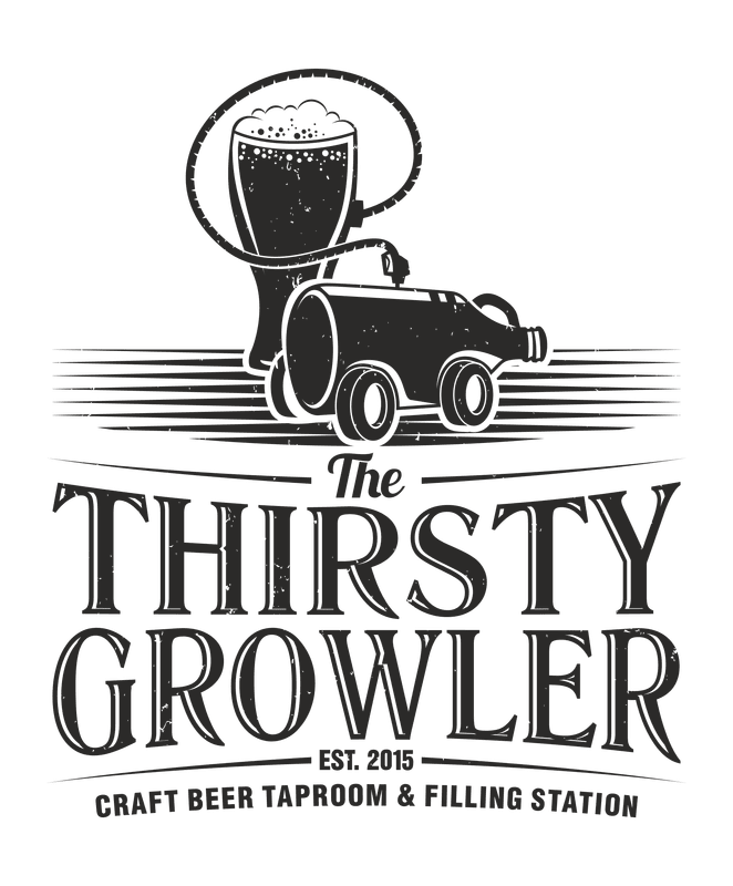 about the thirsty growler craft beer taproom filling station